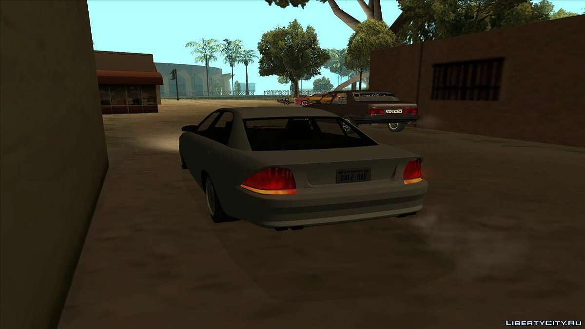 ��ашина GTA 4 Schafter Low Poly для GTA San Andreas
