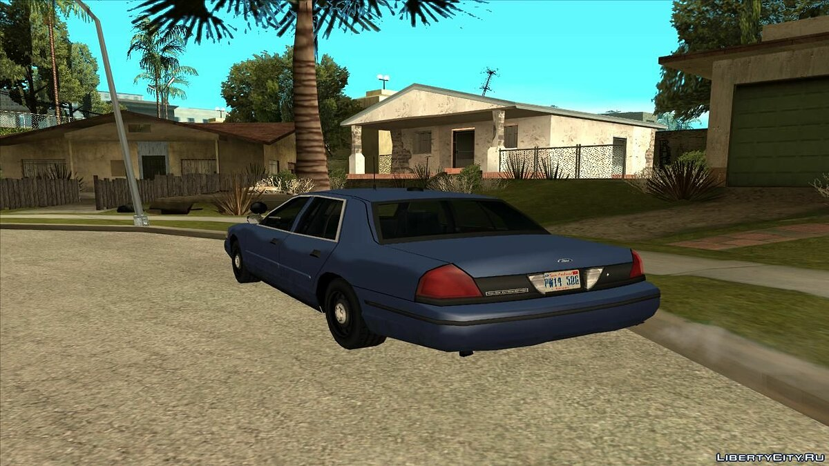 Ford Crown Victoria Unmarked для GTA San Andreas - скриншот #2