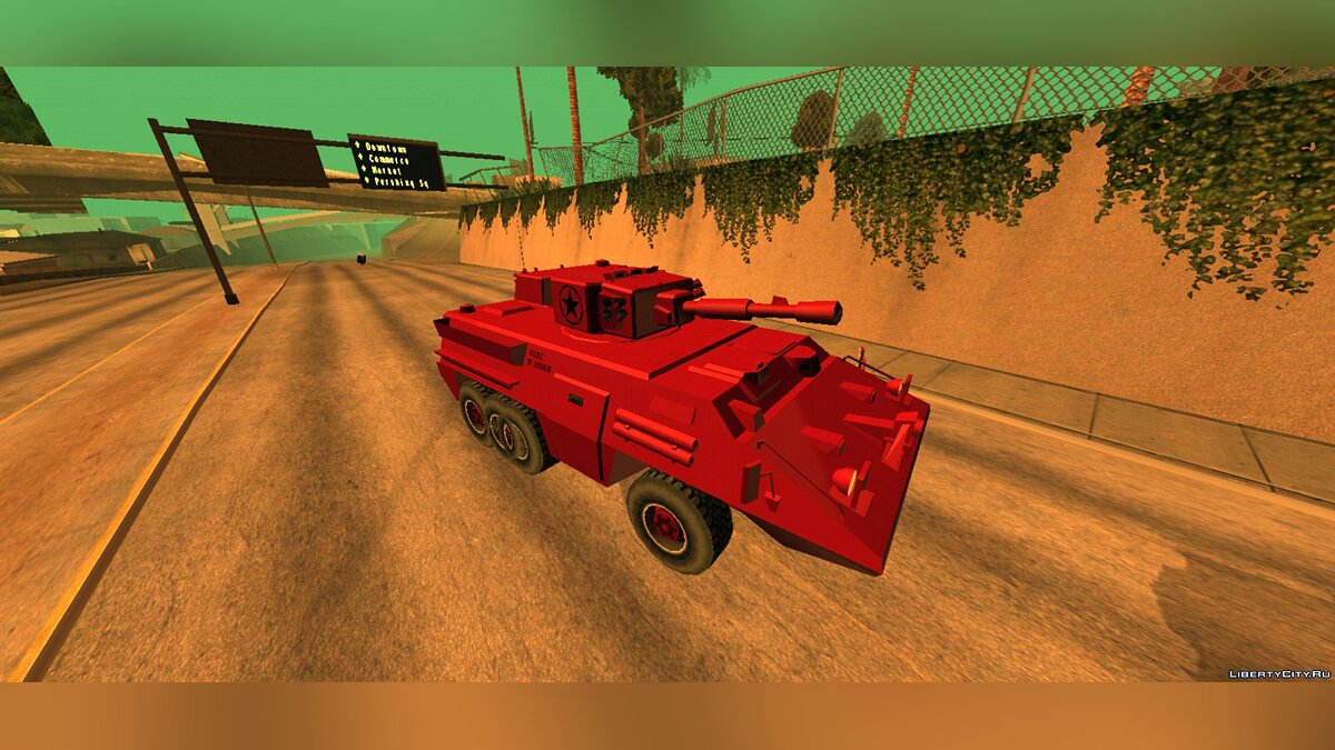 Машина B.T.R from Midway City (FROM GTA UNDERGROUND) для GTA San Andreas