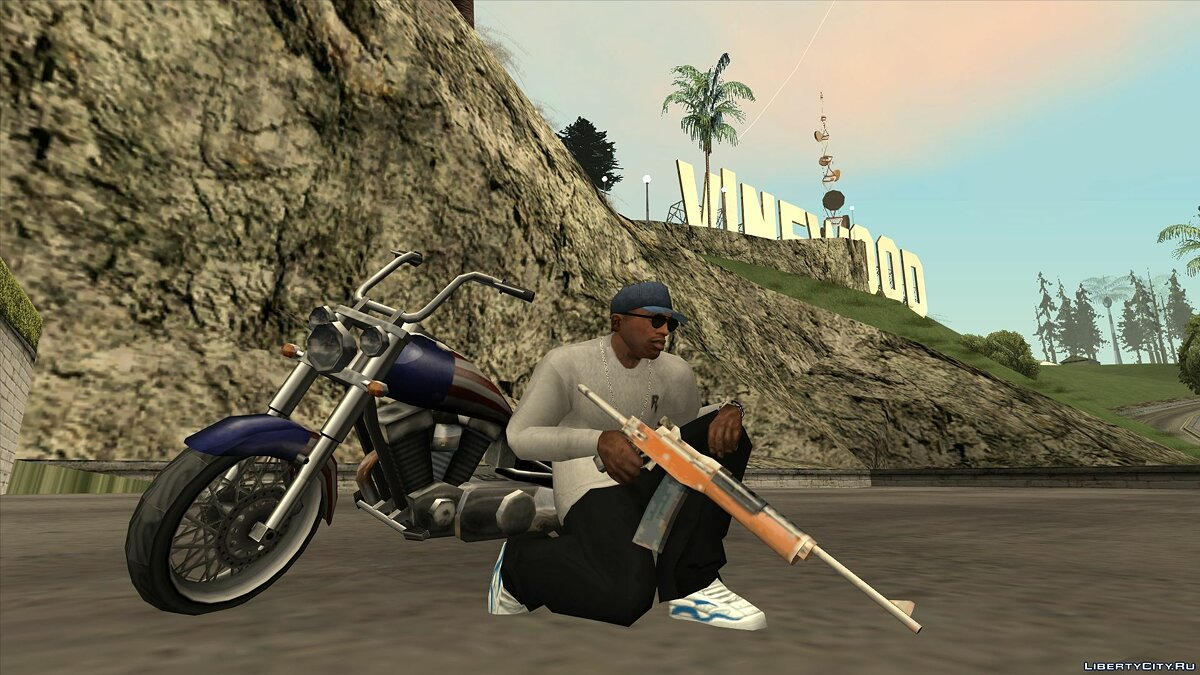 Машина Angel + paintjobs для GTA San Andreas