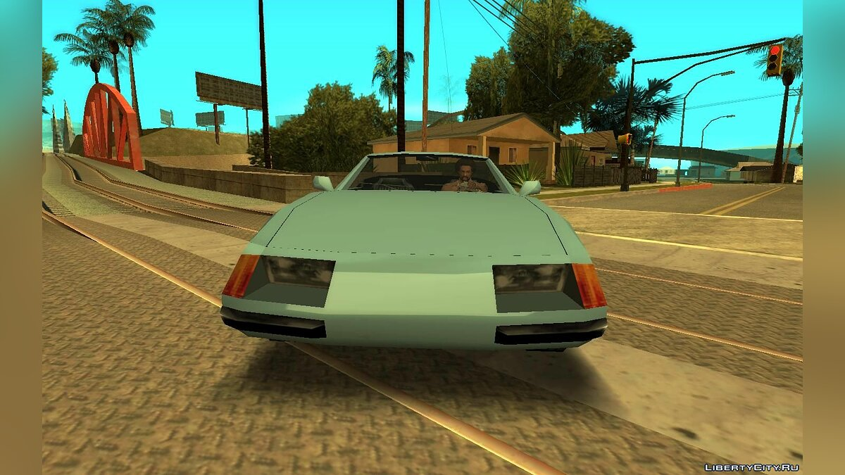 Машина Vice City Stinger для GTA San Andreas