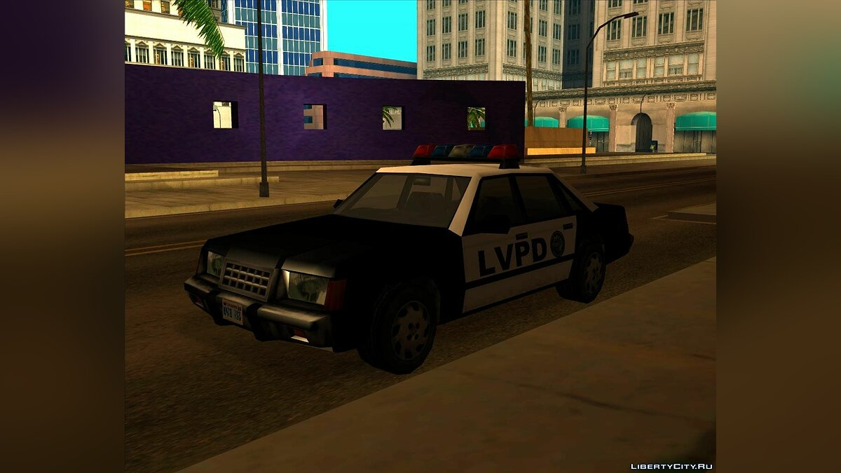 LVPD Police Car from VC для GTA San Andreas