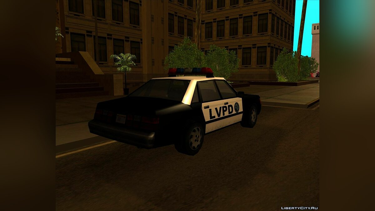 LVPD Police Car from VC для GTA San Andreas - скриншот #2