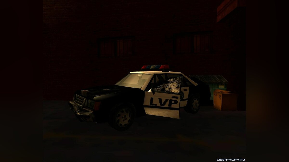 LVPD Police Car from VC для GTA San Andreas - скриншот #3