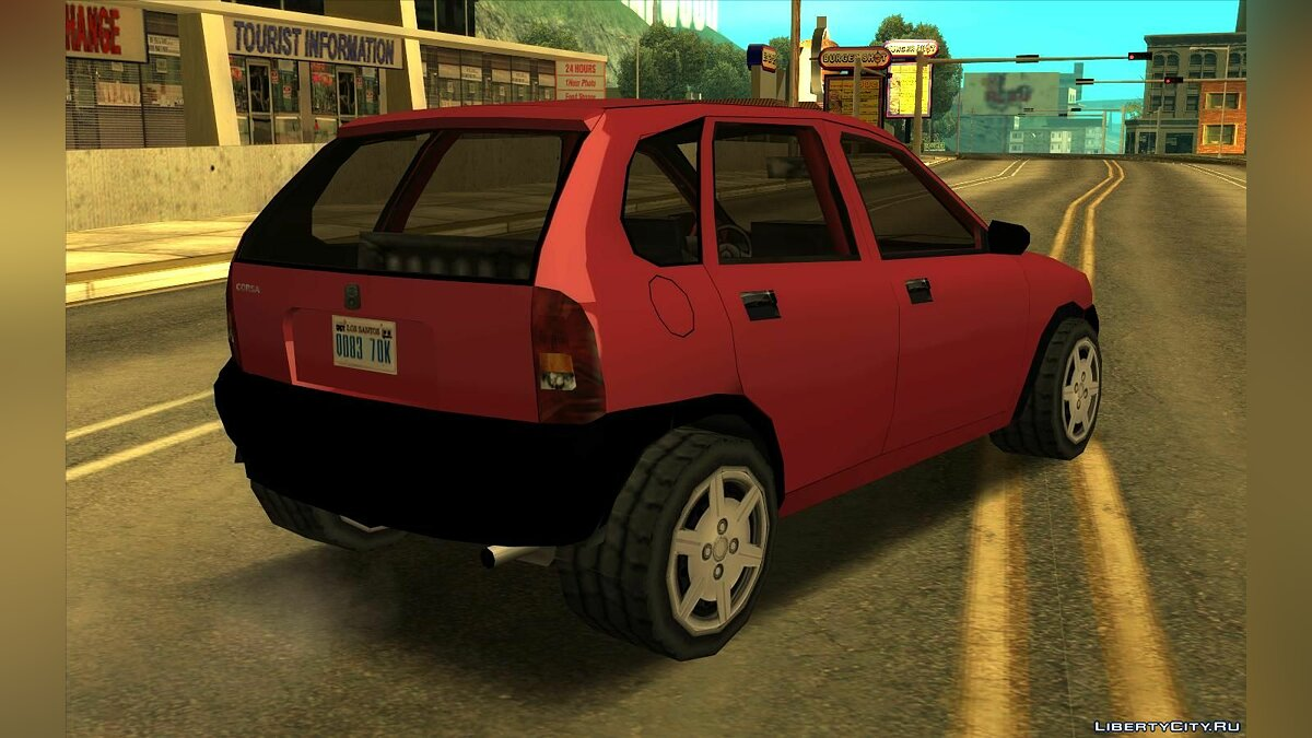 Машина Chevrolet Corsa Hatch 2002 (SA стиль) V3 для GTA San Andreas