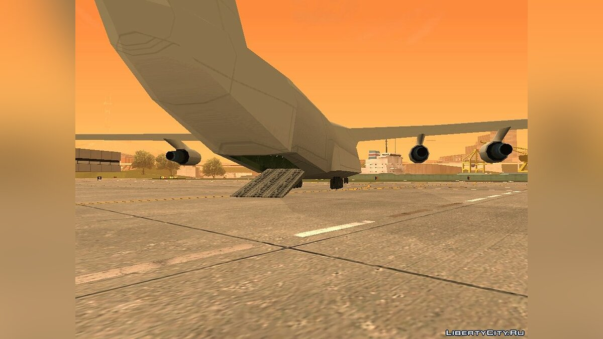 ��ашина Andromeda from gta_int.img v1.0 для GTA San Andreas