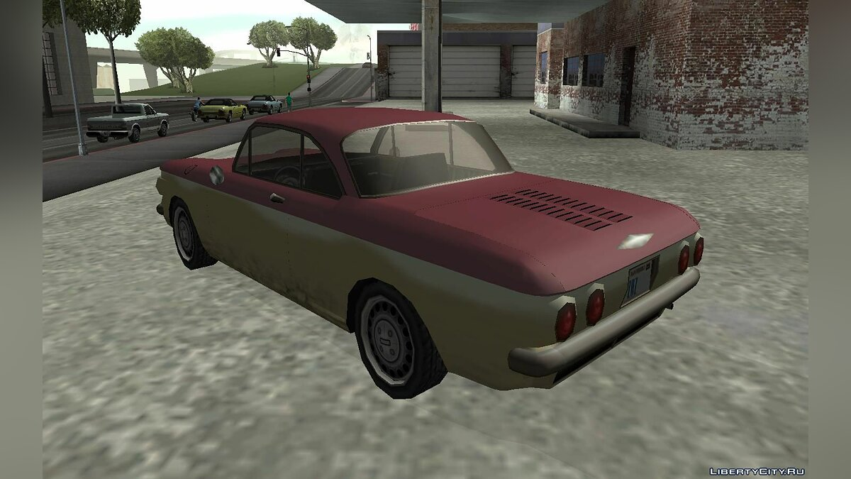 Chevrolet Corvair Coupe 1964 для GTA San Andreas - скриншот #3