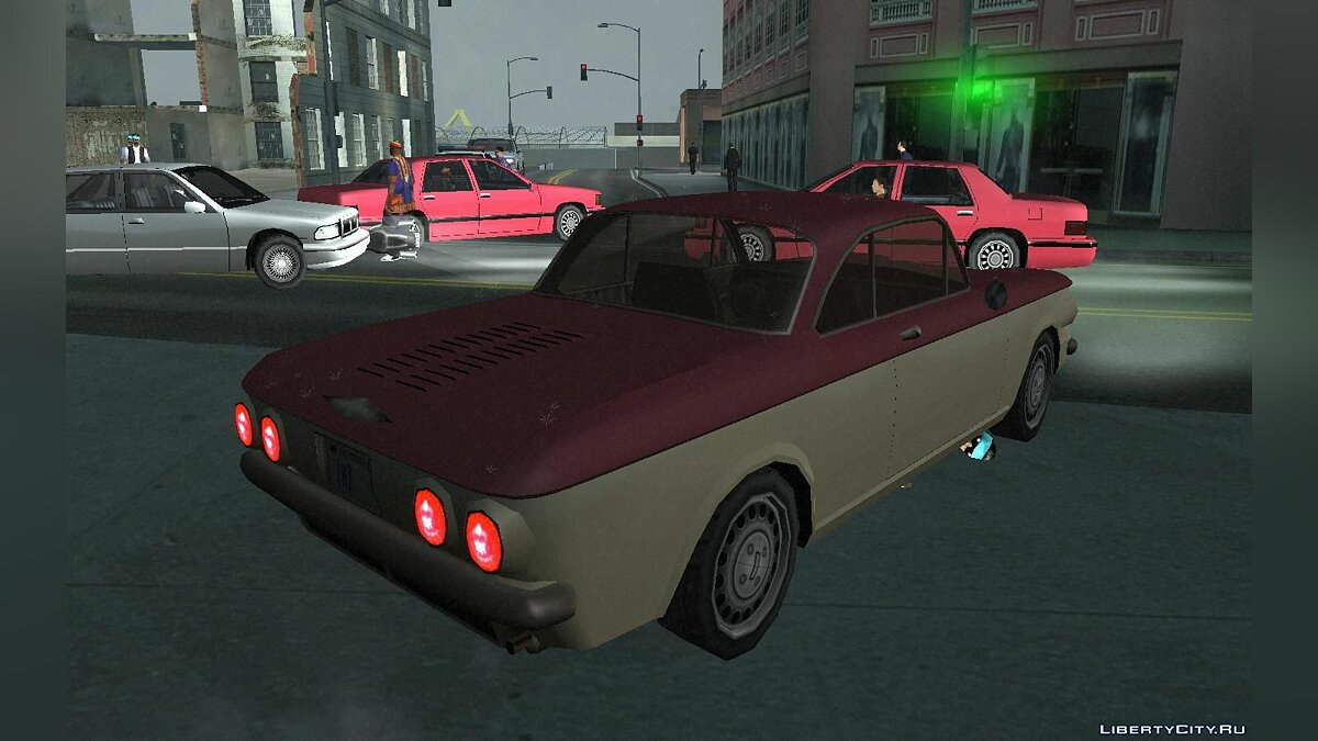 Chevrolet Corvair Coupe 1964 для GTA San Andreas - скриншот #2