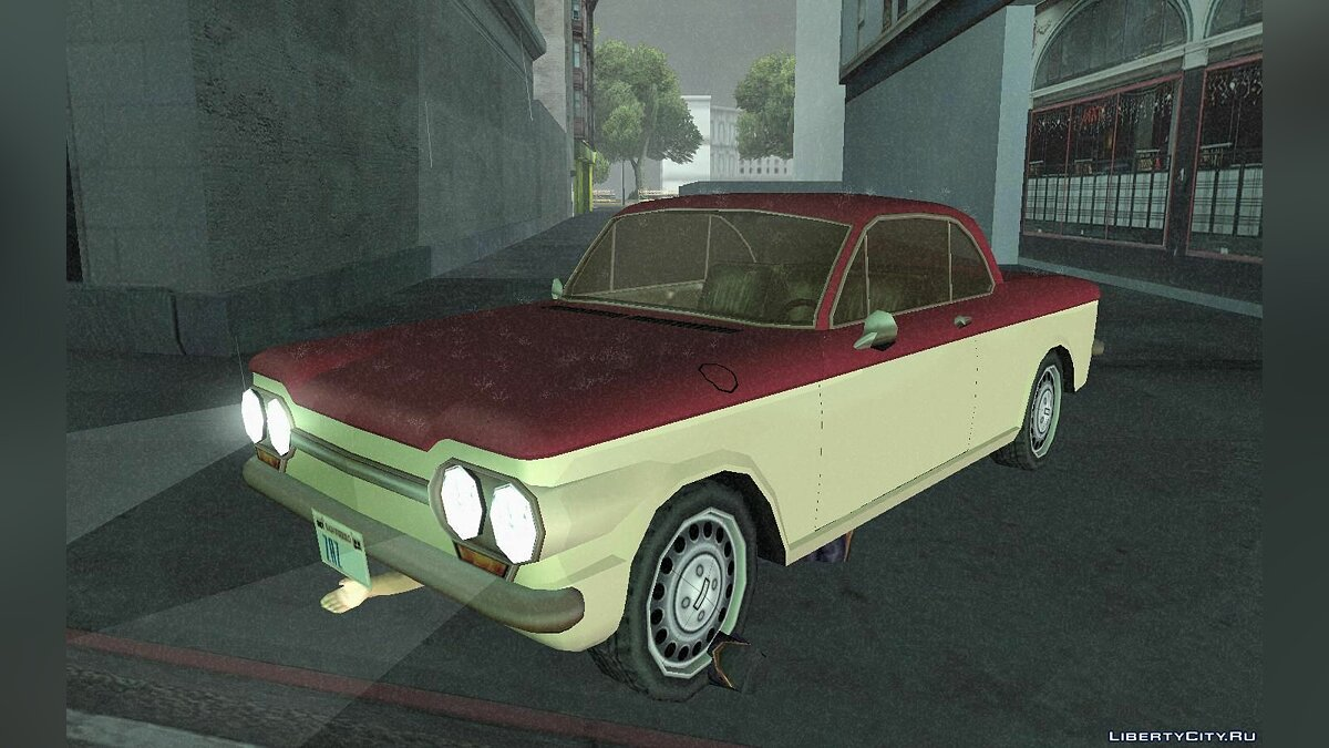 Chevrolet Corvair Coupe 1964 для GTA San Andreas - скриншот #4