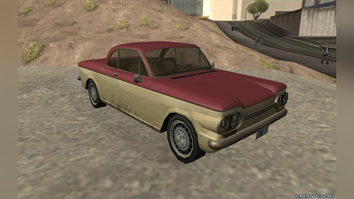 Chevrolet Corvair Coupe 1964 для GTA San Andreas