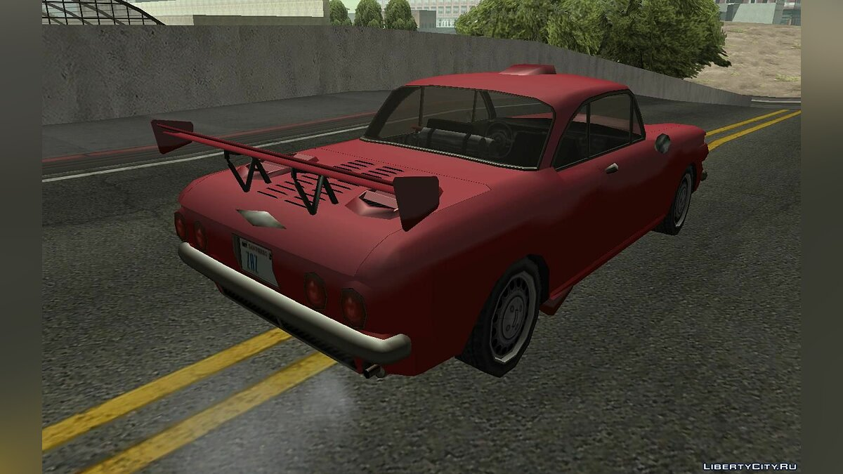 Chevrolet Corvair Coupe 1964 для GTA San Andreas - скриншот #6