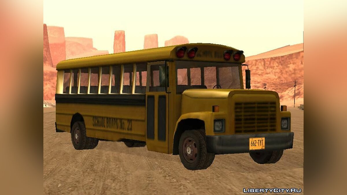 Driver: Parallel Lines Bus Pack для GTA San Andreas