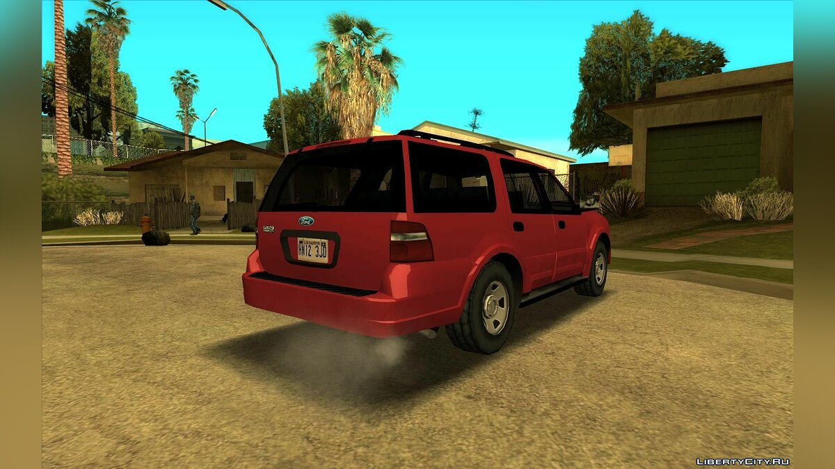 Машина 2009 Ford Expedition Lowpoly для GTA San Andreas
