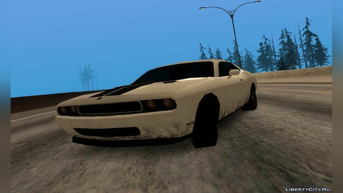 Dodge Challenger SRT8 2012 для GTA San Andreas - скриншот #2