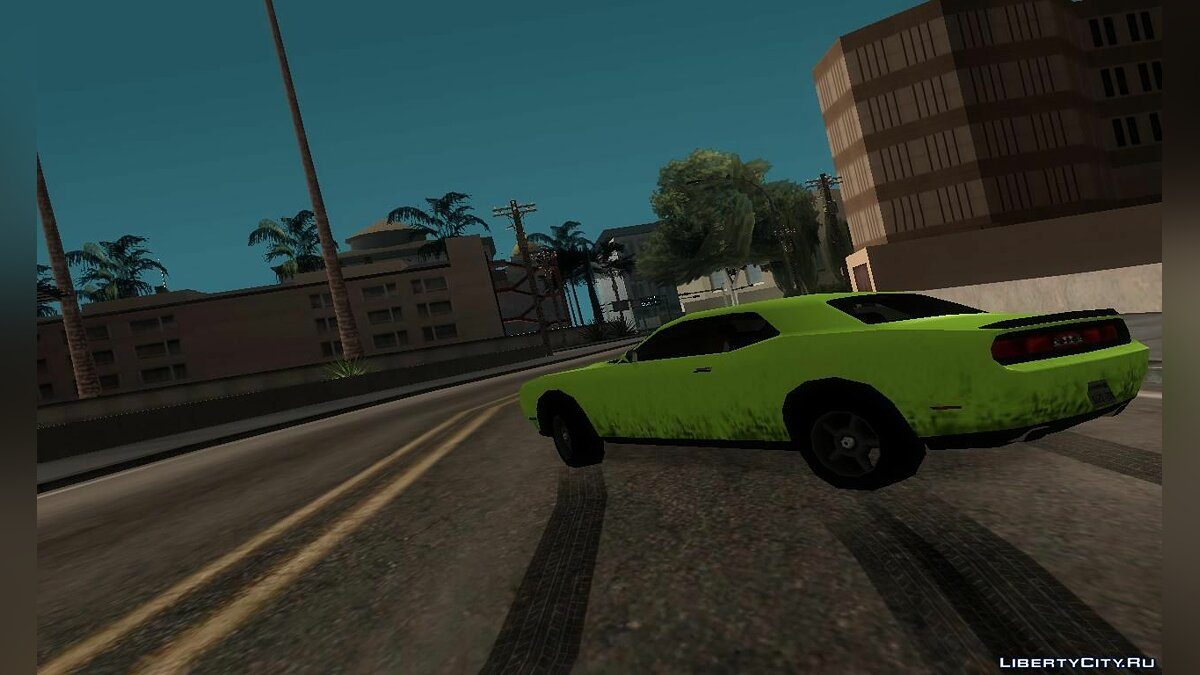 Dodge Challenger SRT8 2012 для GTA San Andreas - скриншот #3