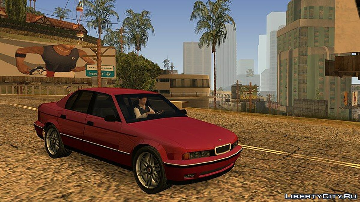 Schneller V8 from Midnight Club 2 для GTA San Andreas