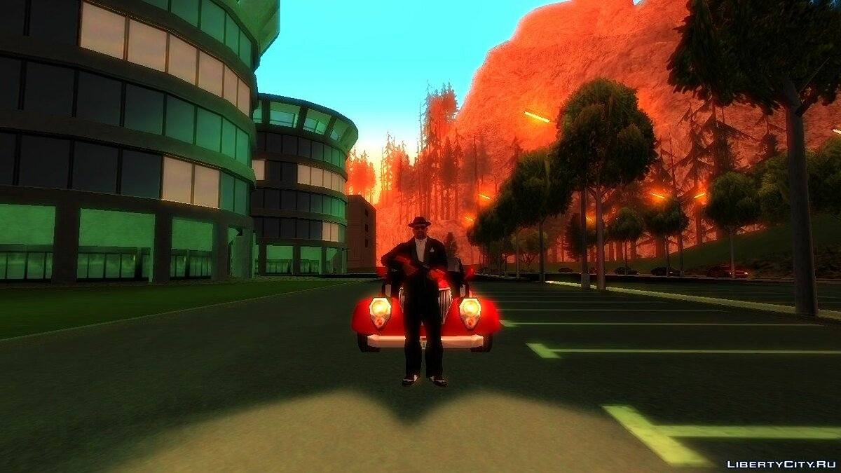 Liberty City Stories Thunder-Rodd для GTA San Andreas