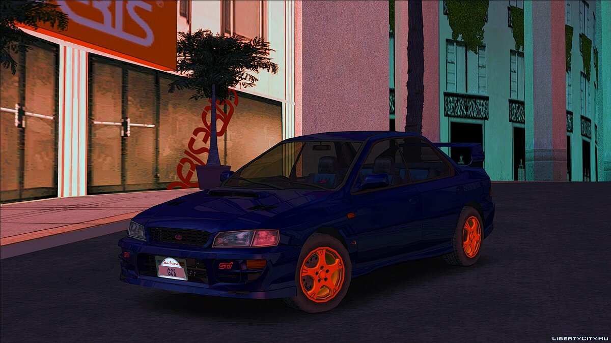 Машина Subaru Impreza WRX STI Version VI Series I GC '99 для GTA San Andreas