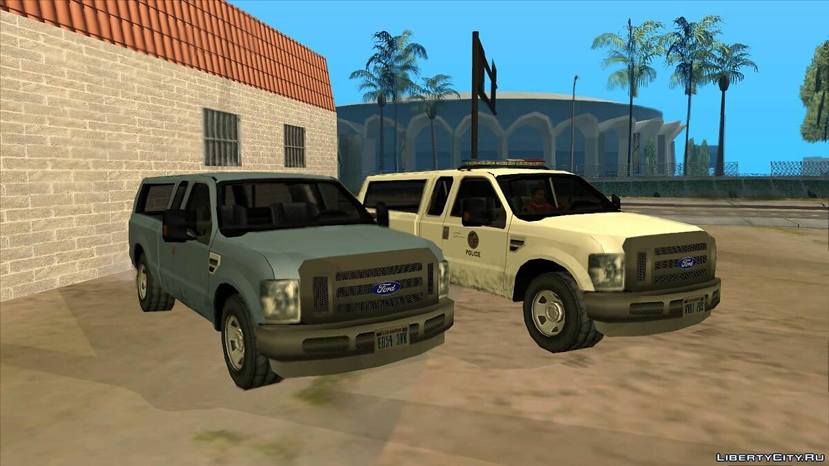 Машина Ford F-150 Police/Civil version для GTA San Andreas