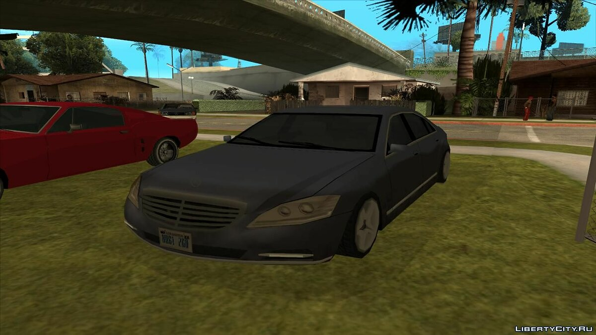 ��ашина Mercedes-Benz S600 W221 Low Poly для GTA San Andreas