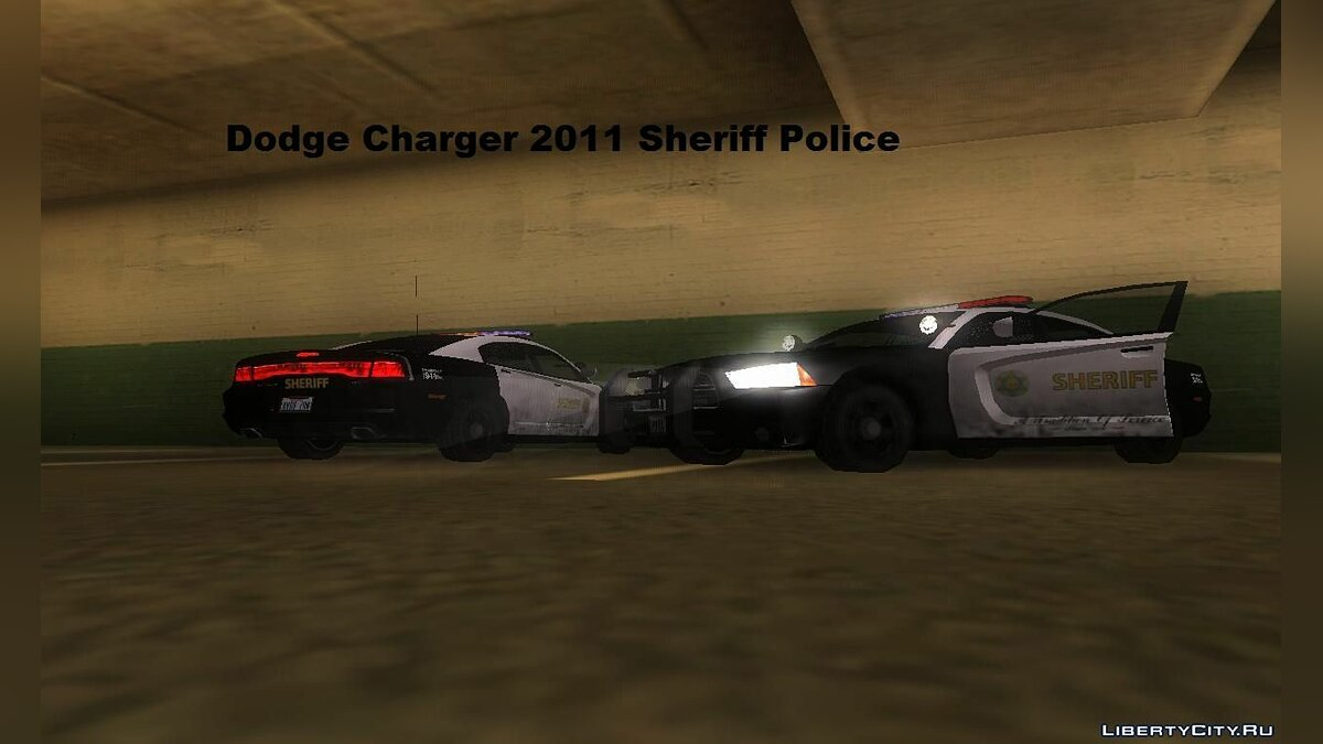 Dodge Charger 2011 Sheriff для GTA San Andreas