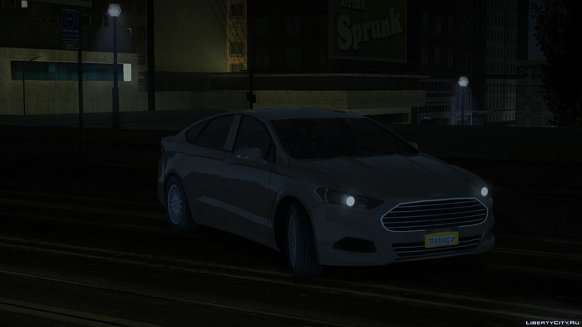 Машина Ford Fusion Police Responder Unmarked NYPD для GTA San Andreas