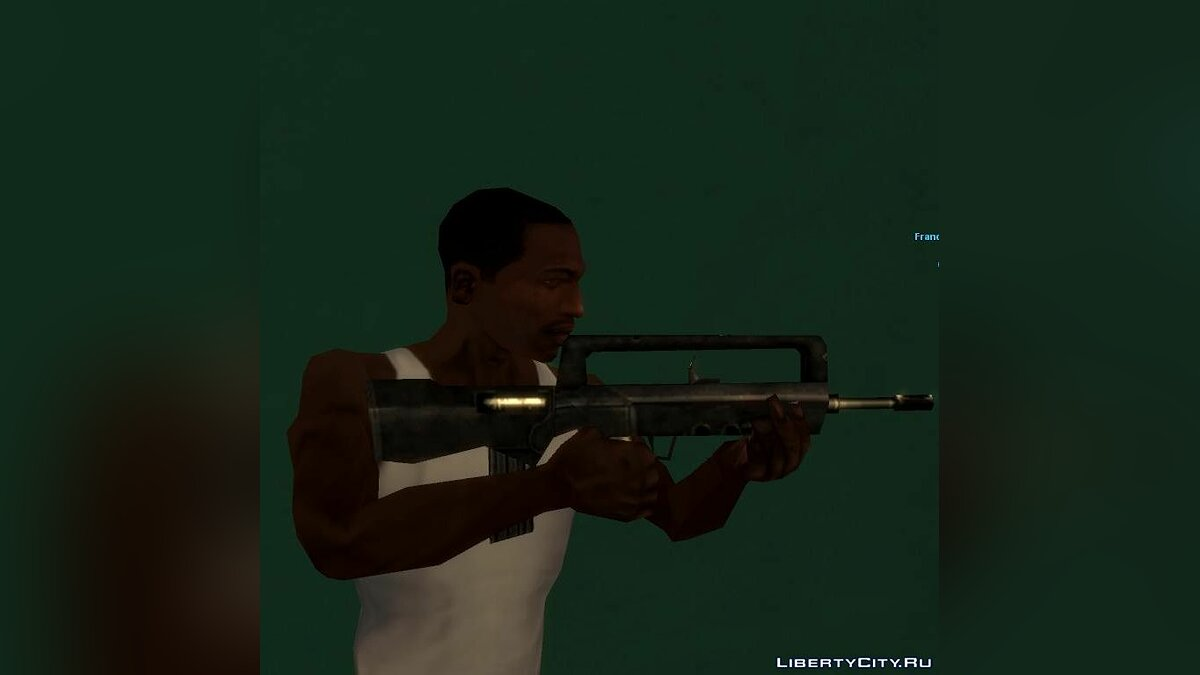��ружейный мод Weapon Pack Release II для GTA San Andreas