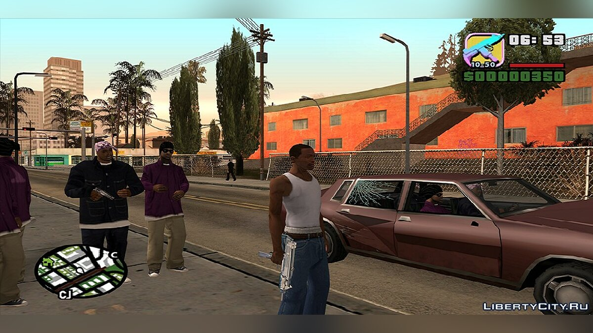 Hello from Vice city v 1.0.1 для GTA San Andreas - Картинка #7