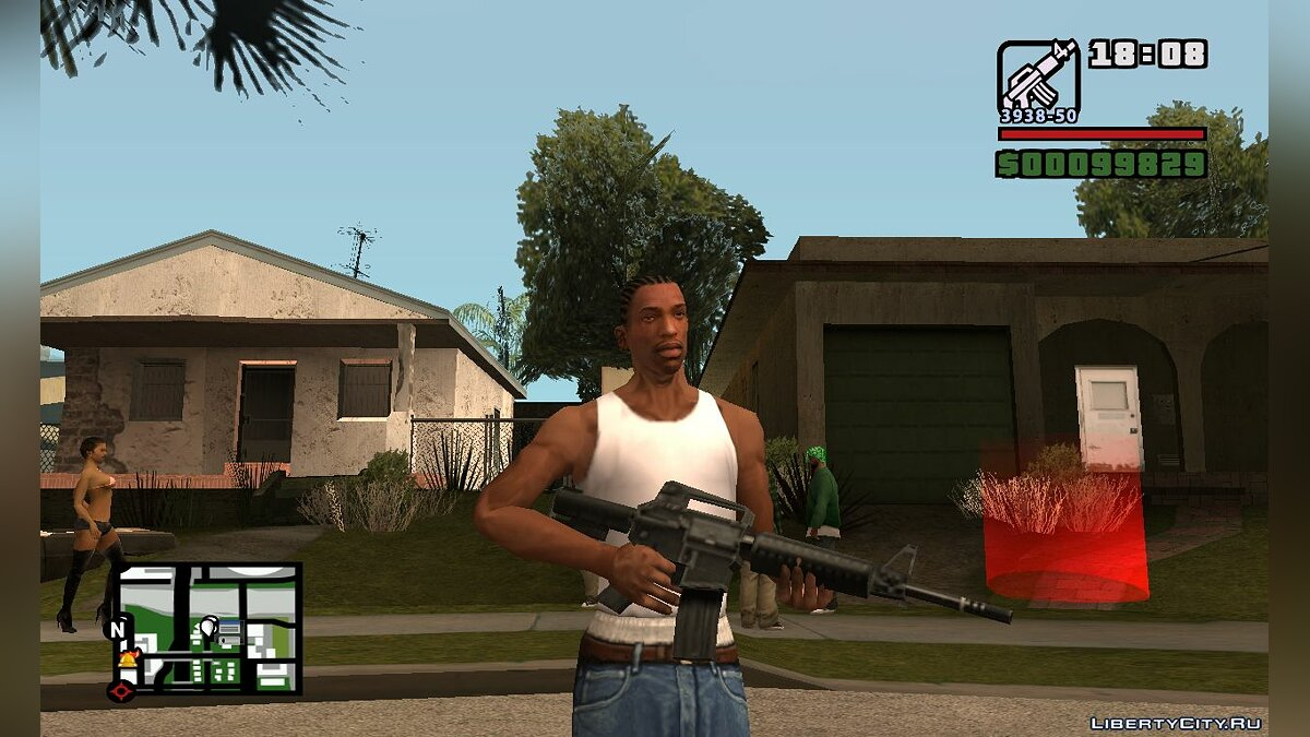 Fixed Vice City PS2 Weapon / Исправленные оружие Vice City PS2 для GTA San Andreas