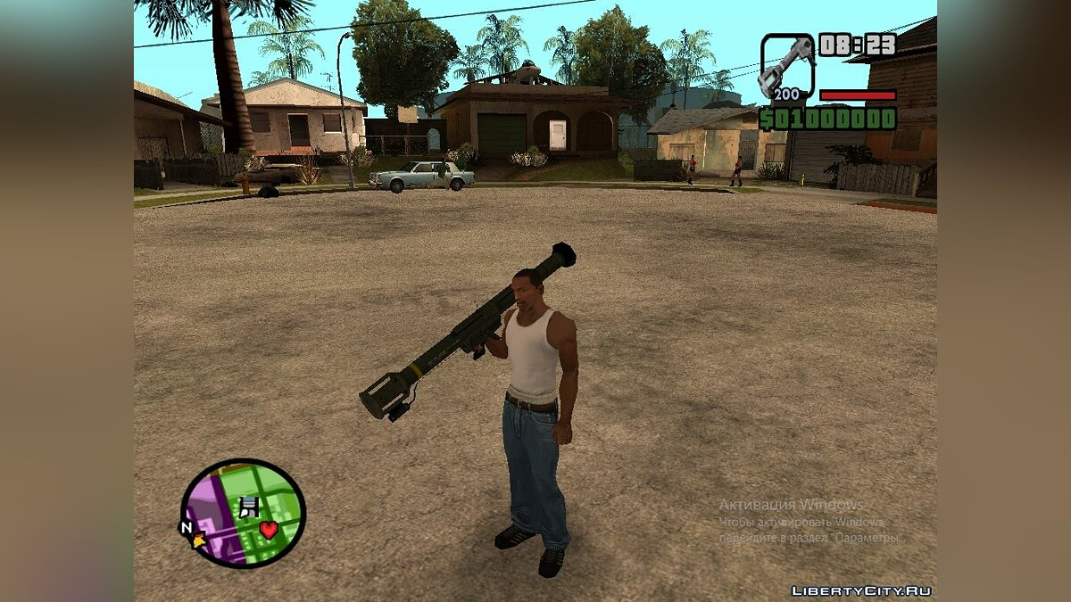 Half-Life weapons pack v 0.5 для GTA San Andreas - скриншот #6