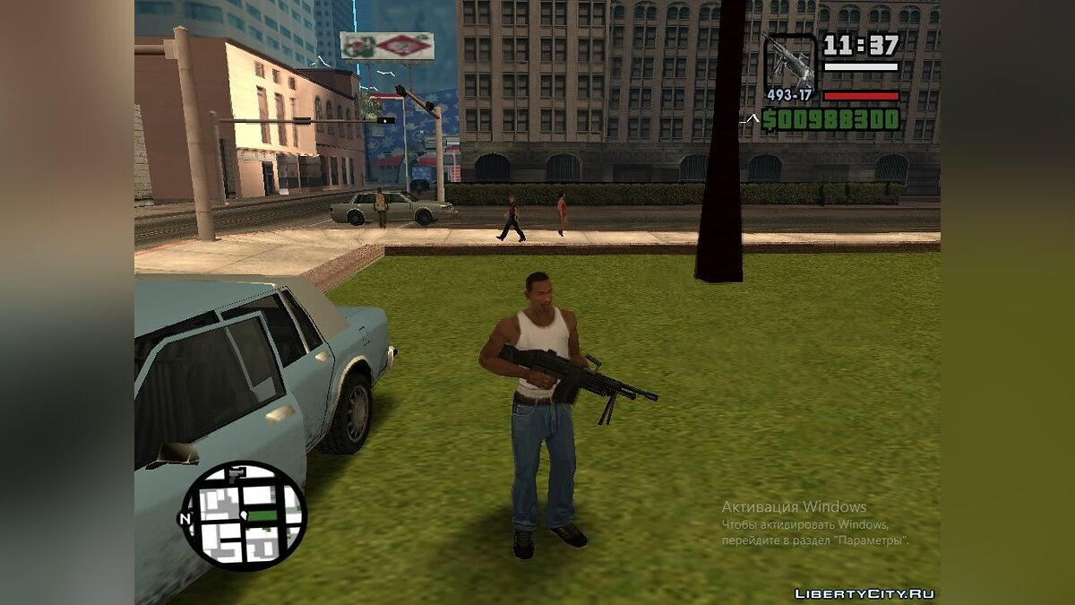 Half-Life weapons pack v 0.5 для GTA San Andreas