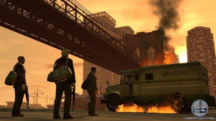 Ограбление в GTA 4