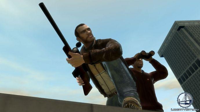 Снайперка в GTA 4