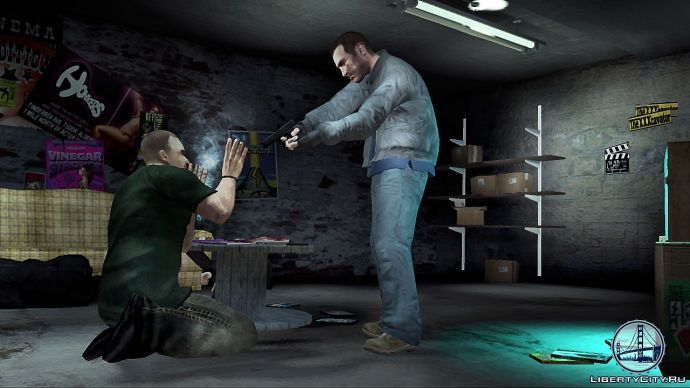 Казнь в GTA 4