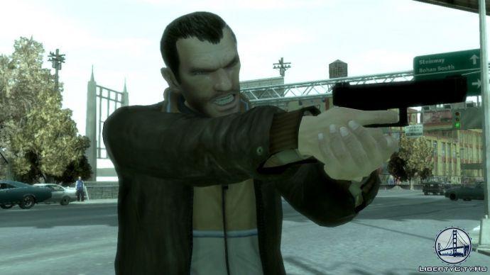 Пистолет в GTA 4