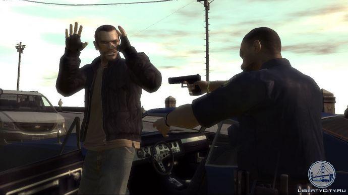 Арест в GTA 4