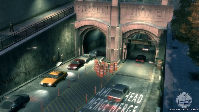 Booth Tunnel в GTA 4