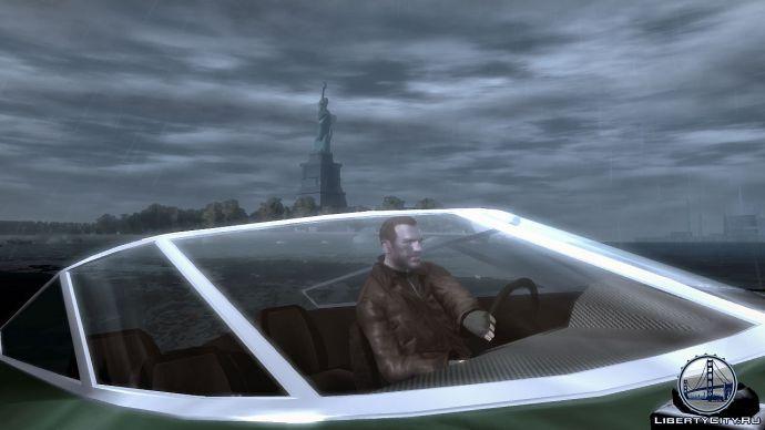 Лодка в GTA 4