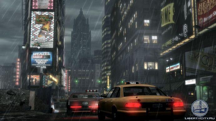 Таймс-сквер в GTA 4