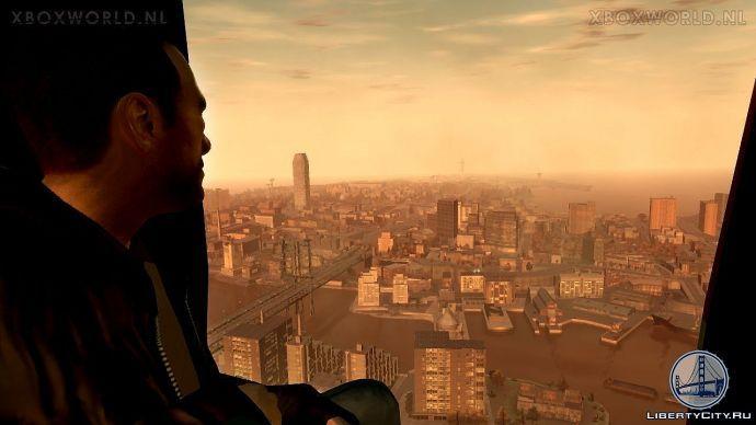 Полет на вертолете в GTA 4