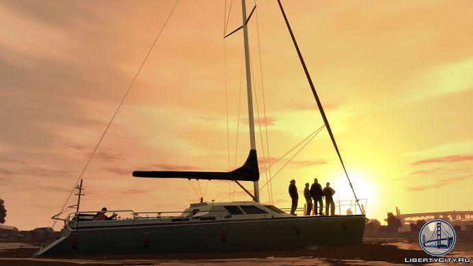 Яхта в GTA 4