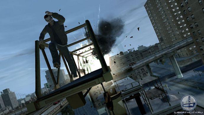Взрыв в GTA 4