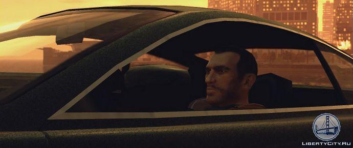 Нико в машине