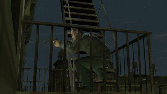 Стрельба с лестницы