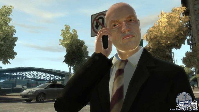 Разговор по телефону в GTA 4