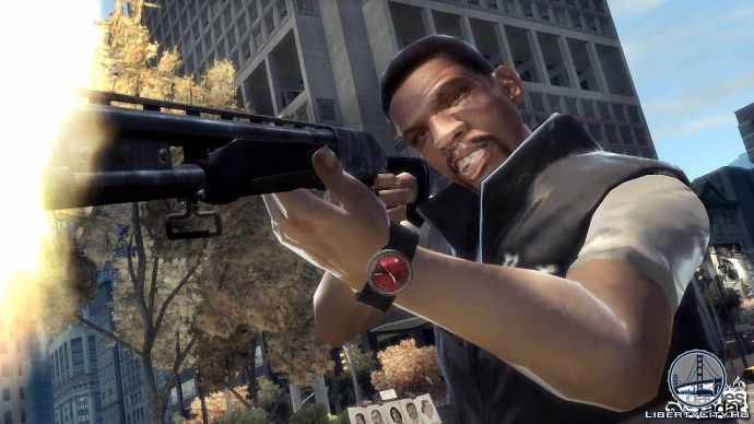 Стрельба в GTA 4