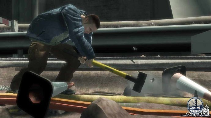 Рабочий в GTA 4