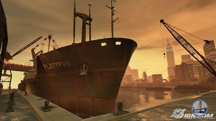 Порт в GTA 4