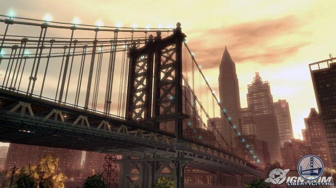Мост в GTA 4