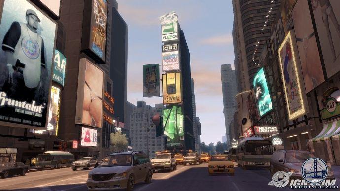 Time Square в GTA 4